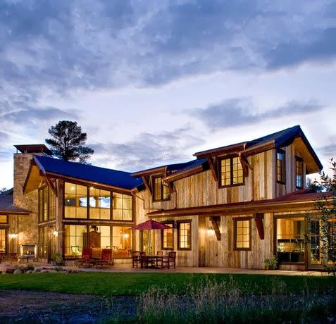 Fachadas de casas modernas en el campo dise os y estilos for Casa moderna en el campo