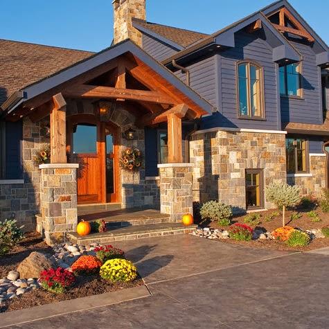 Fachadas de casas modernas en el campo dise os y estilos for Fachadas de casas con azulejo