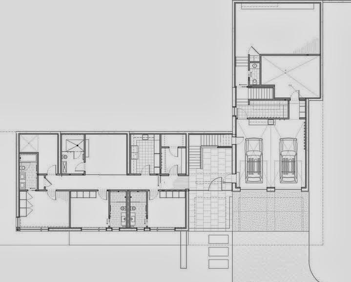 Planos y dise o de casa moderna especial para climas fr os - Fotos de casas en forma de l ...