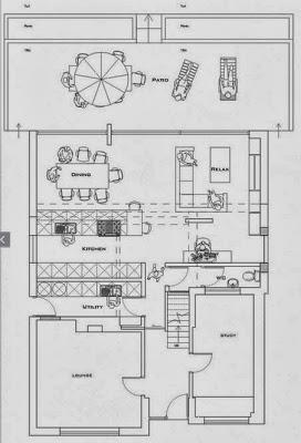 Planos de primer piso de ampliación de casa