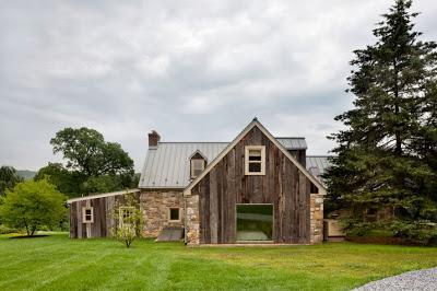 Remodelación de casa en el campo fachada