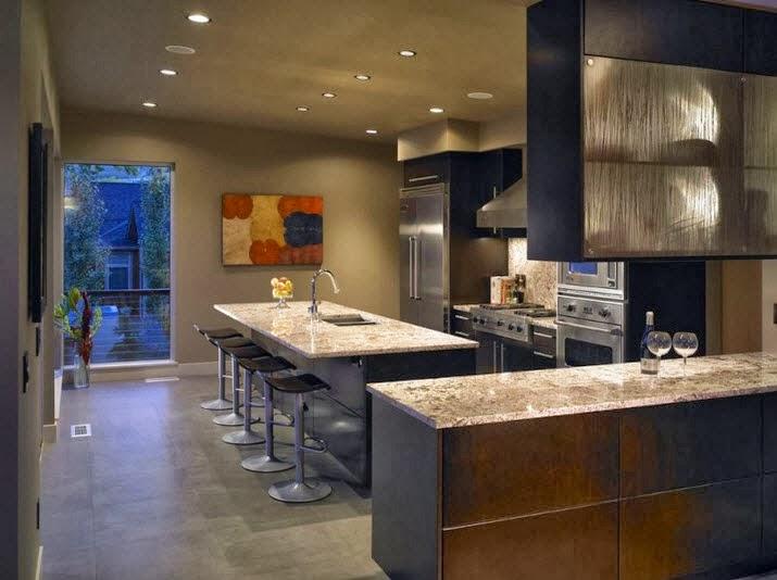 Fachada moderna de casa de campo dise o de interiores y for Diseno de casas de campo modernas