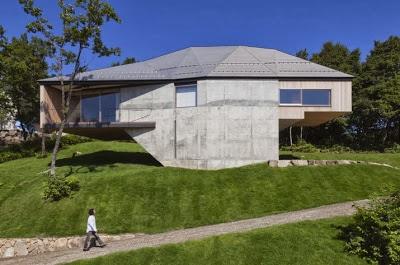 Diseño de casa elevada del suelo de dos pisos