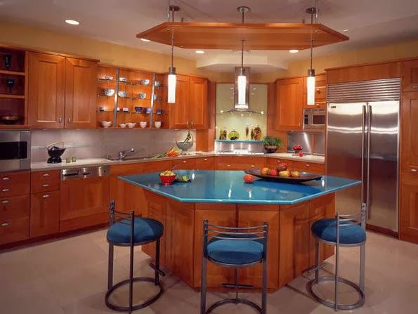 40 dise os de islas de cocina consigue inspirarte con for Ideas diseno cocina