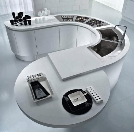 40 diseños de modernas islas de cocina, ideas con fotos   Construye ...