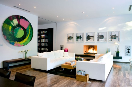 Dise o planos de casa moderna dos pisos Disenos de casas x dentro