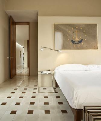 Diseño de dormitorio de casa hacienda