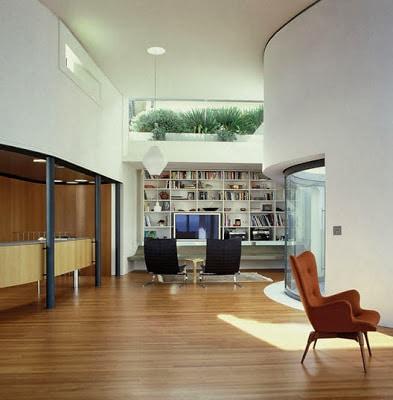 Diseño de interiores del Estar de la casa