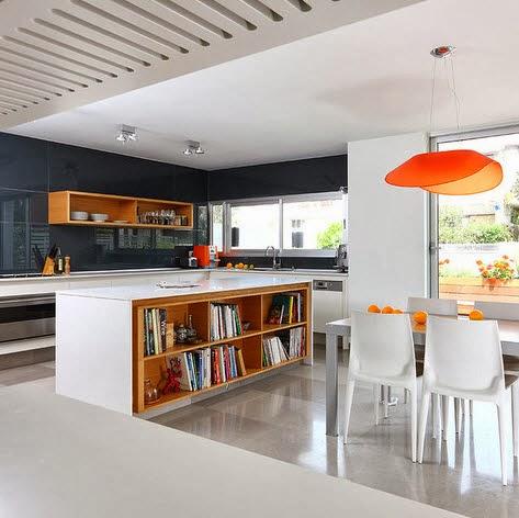 40 dise os de islas de cocina consigue inspirarte con for Diseno isla cocina