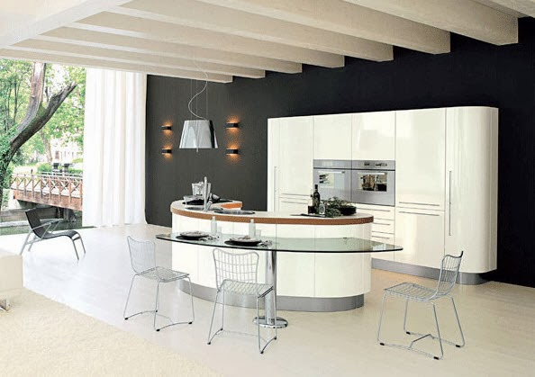 40 dise os de islas de cocina consigue inspirarte con. Black Bedroom Furniture Sets. Home Design Ideas