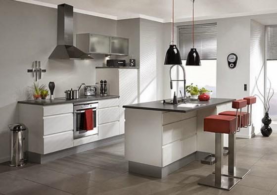40 dise os de modernas islas de cocina ideas con fotos - Cocinas espectaculares modernas ...
