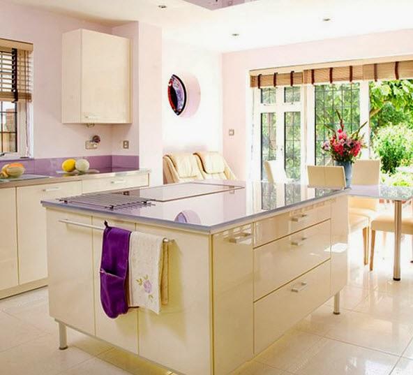 40 dise os de modernas islas de cocina ideas con fotos for Clases de marmol para cocinas