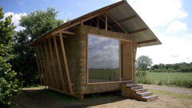 Photo of Construcción de casa de paja, uso bloques de heno y estructura de madera