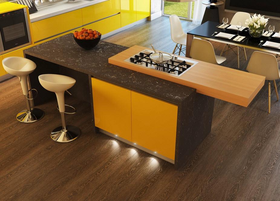 Cocinas con contraste dise os y fotos para inspirarte for Disenos de interiores en blanco y negro