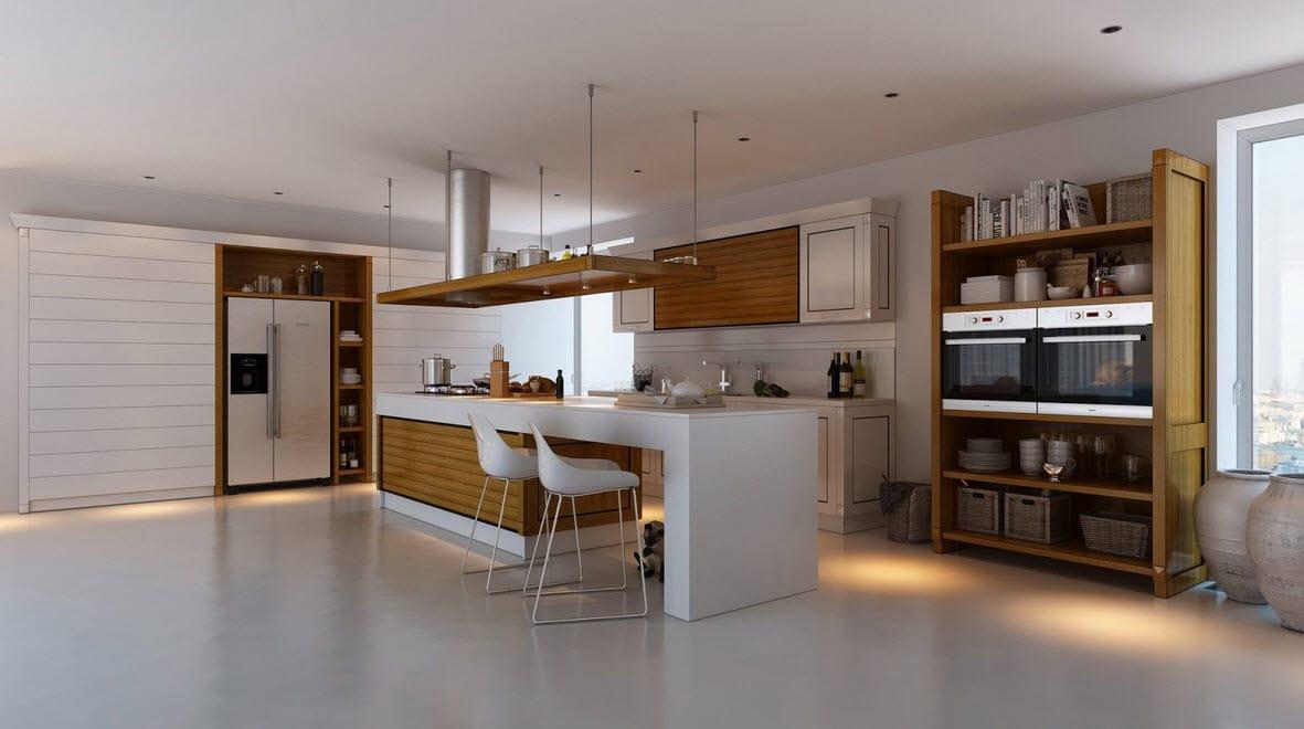 Cocinas con contraste, diseños y fotos para inspirarte