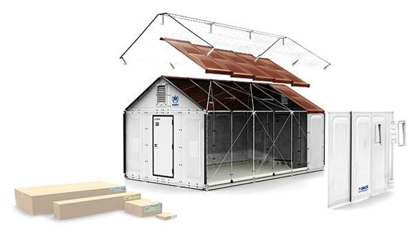 Casa ikea para armar r pido y con paneles solares - Casa de jengibre ikea ...