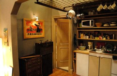 Diseño de cocina de apartamento pequeño