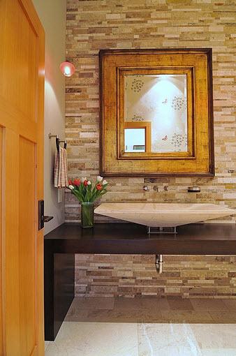 Modernos diseño de cuarto de baño - lavabo