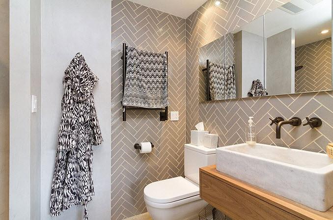 Dise o de cuarto de ba o peque os y medianos construye hogar - Adornos para cuartos de bano ...