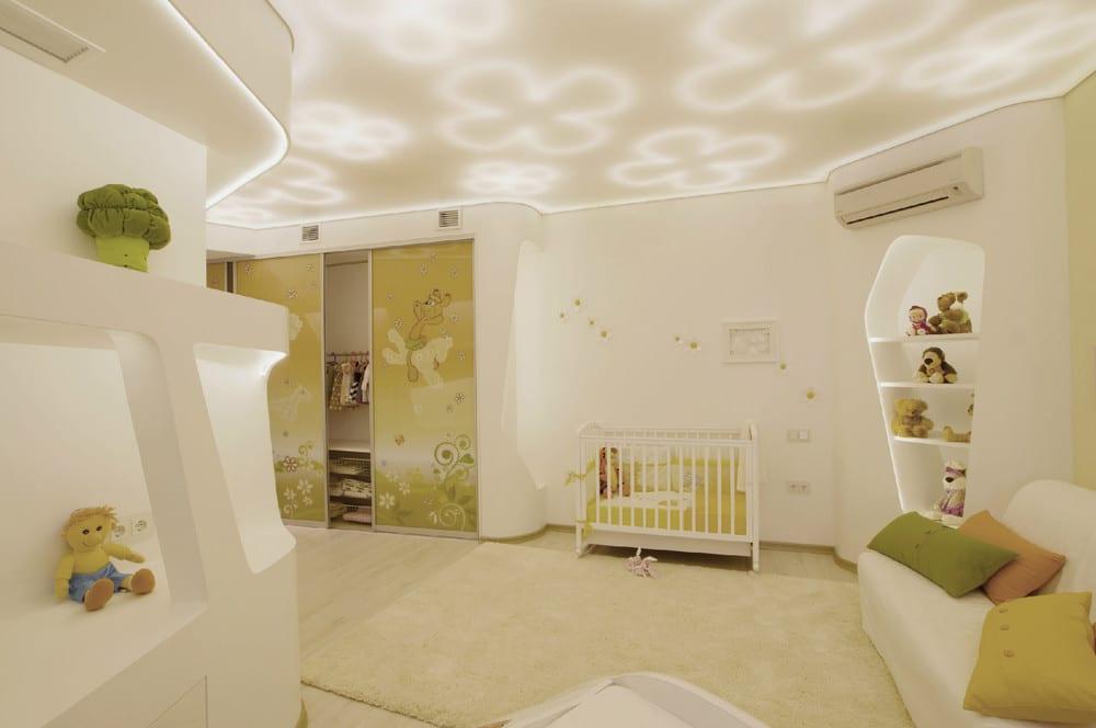 Dise o de penthouse ultra moderno decoraci n de for Dormitorio ninos diseno