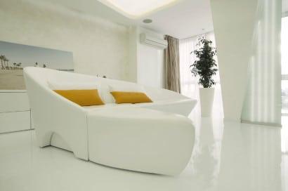 Diseño de interiores- mueble futurista