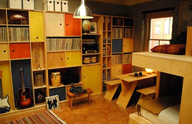 Dise o de interiores de mini apartamento y planos dise os for Disenos de apartamentos