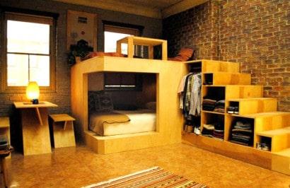 Módulo de dormitorio de pequeño apartamento