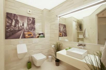 Modernos azulejos  de cuarto de baño