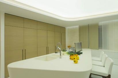 Muebles de cocina cerrados ultra modernos