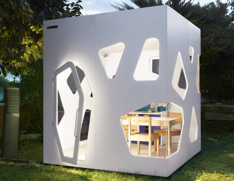Dise os de casas para ni os especial para construir uno for Modelos jardines para casas pequenas