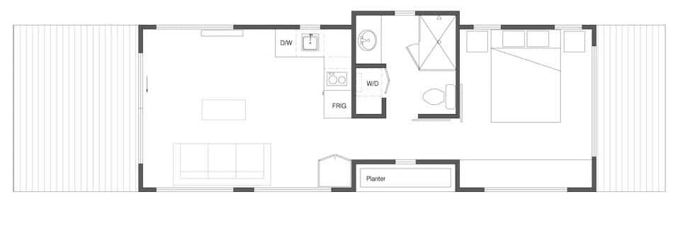 Planos de casa pequeña