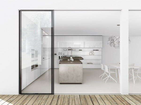 Dise o de cocinas modernas minimalistas fotos - Diseno d cocinas ...