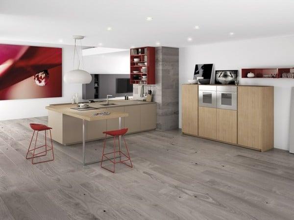 Diseño de cocinas modernas minimalistas [Fotos] - Construye Hogar