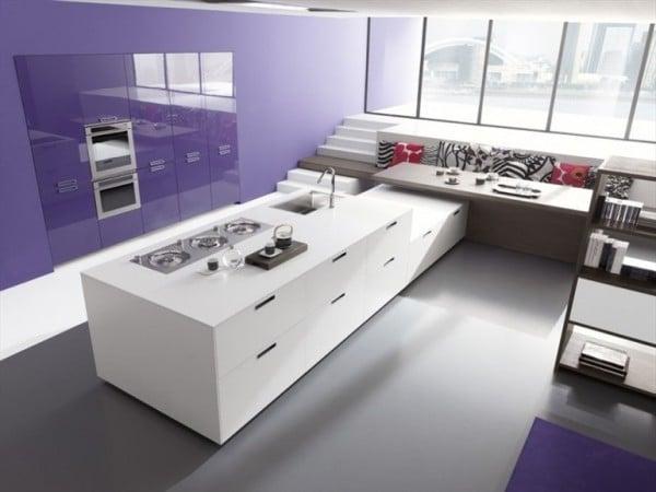 Dise o de cocinas modernas minimalistas fotos for Diseno de cocina sencilla