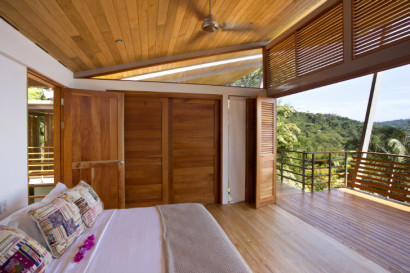 Ddiseño de dormitorio de casa clima tropical