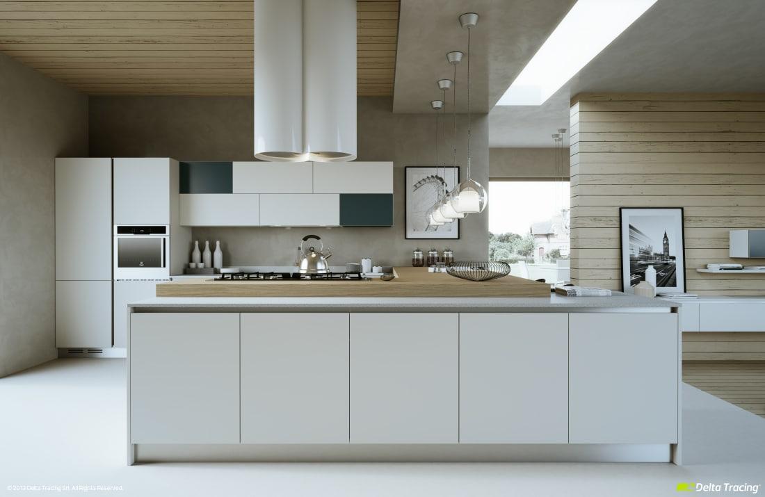 Dise o de cocinas modernas iluminaci n de interiores for Diseno de cocina