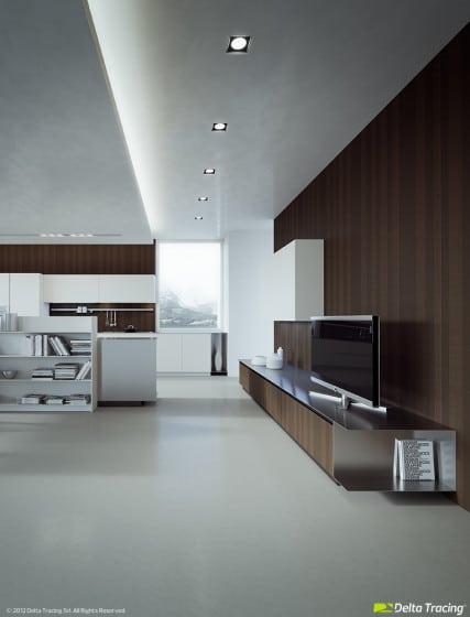 Luminarias para techo de cocina moderna