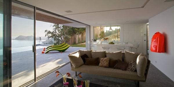 Casa de dos pisos en la playa incluye fachada y dise o de - Muebles para apartamentos de playa ...