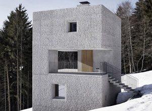 Photo of Pequeña casa en forma de cubo para climas frios en la montaña