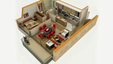 Photo of Departamentos pequeños, planos y diseño en 3D