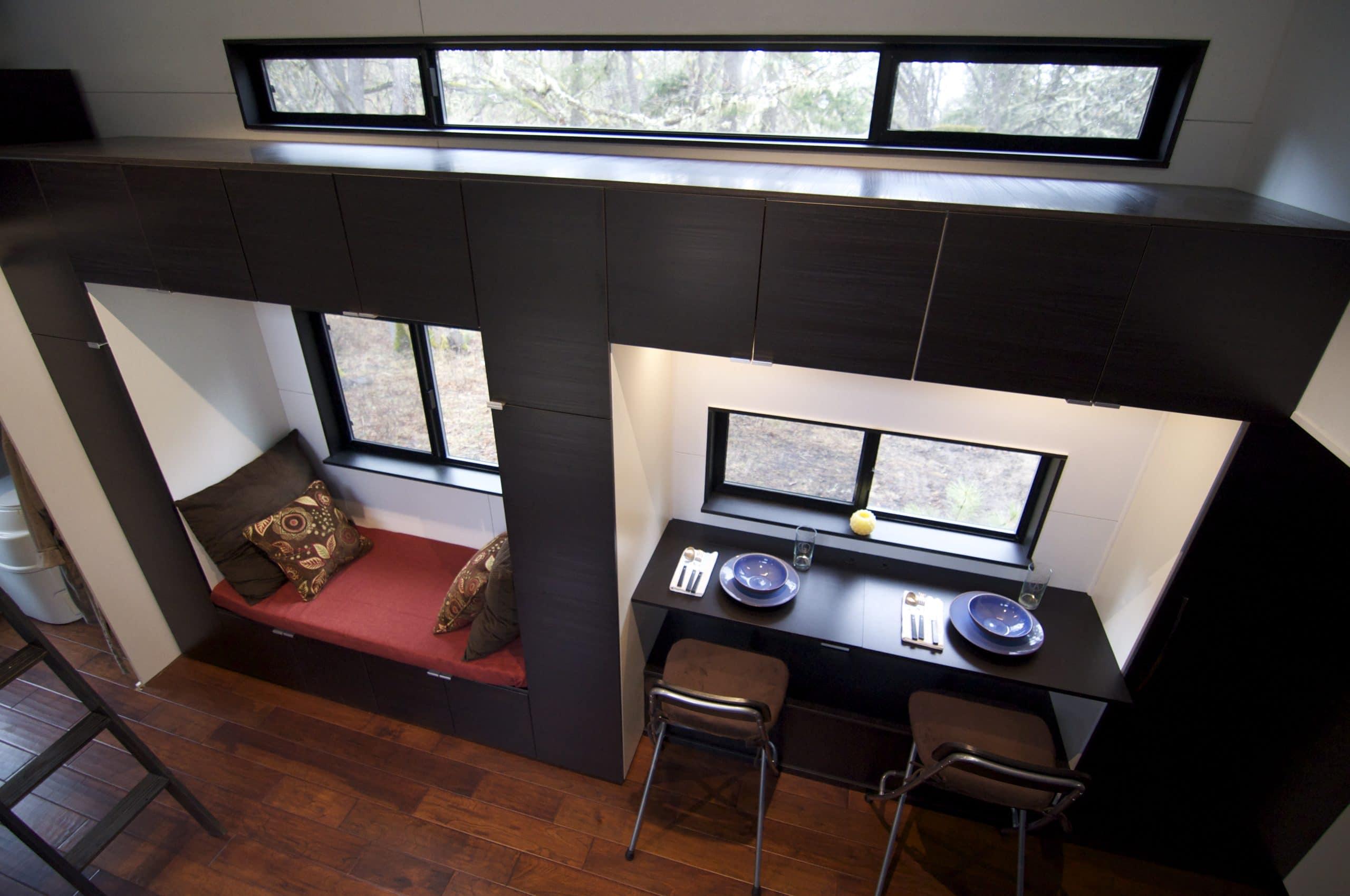 Dise o de casa muy peque a optimizando espacios for Decoracion de interiores casas pequenas 2014