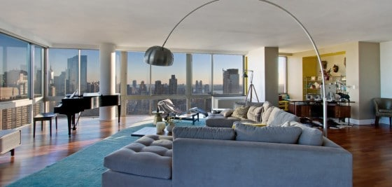 Diseño de apartamentos de lujo con piano