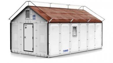 Photo of Casa IKEA para armar rápido y con paneles solares especial para refugios