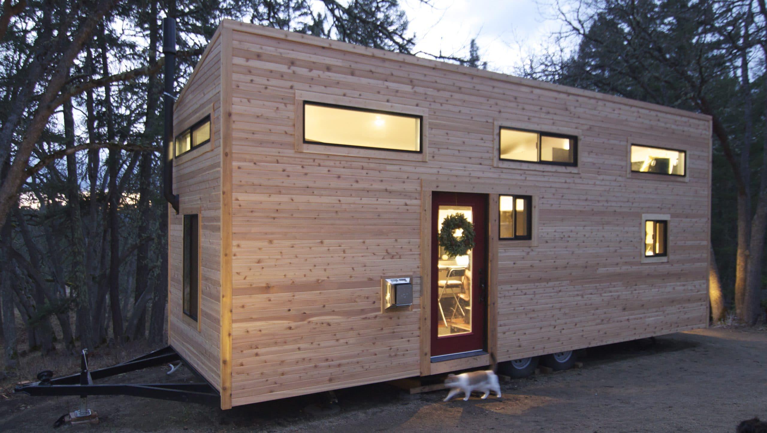 Dise o de casa muy peque a optimizando espacios for Casas de madera pequenas