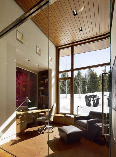 Diseño de estudio de casa de campo