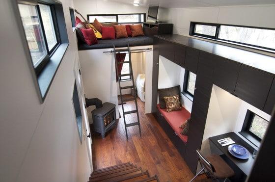 Diseño y decoración de interiores de casa muy pequeña