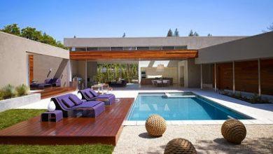 Photo of Diseño de casa moderna en forma de U, fachada e interiores [Fotos]
