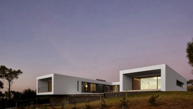 Photo of Diseño de casa moderna en forma de U frente al mar
