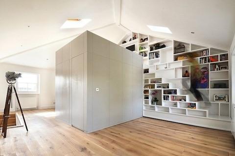 Módulo para mini apartamento de madera