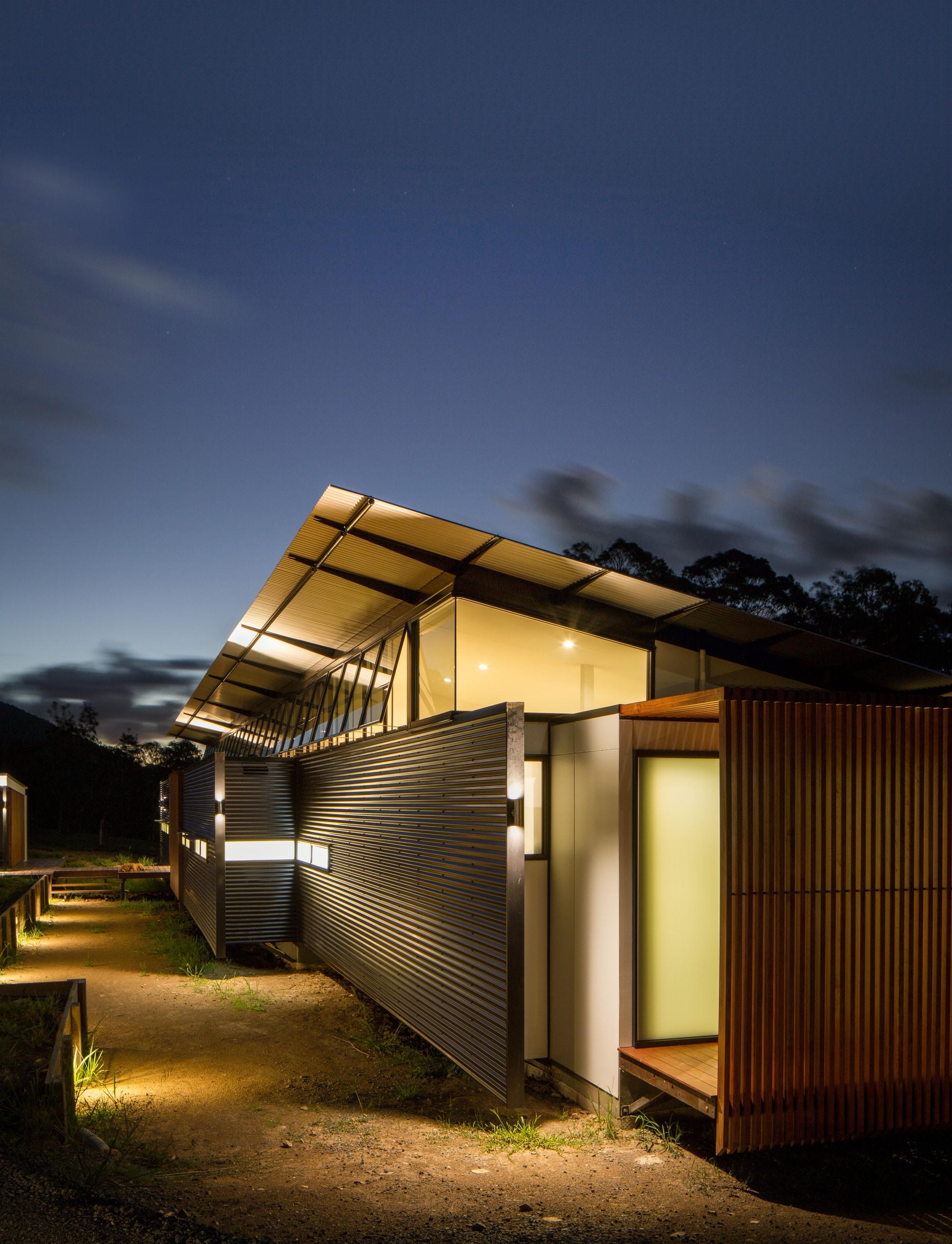 Iluminacion exterior moderna